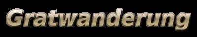 Logo Gratwanderung